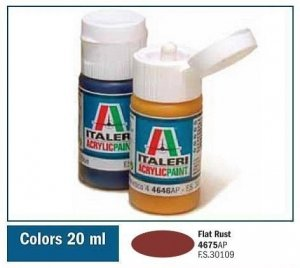Italeri 4675 FLAT RUST 20ml