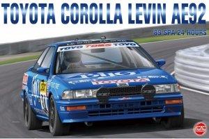 NuNu 24016 Toyota Corolla Levin AE92 '89 SPA 24Hrs 1/24