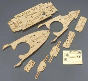 Hasegawa QG48 (72148) Wooden Deck for IJN Battleship Mikasa 1/350