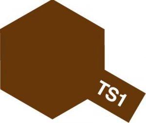 Tamiya TS1 RED BROWN (85001)
