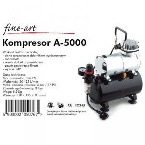 Fine-Art A5000 Kompesor