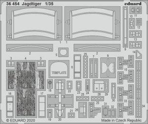 Eduard 36454 Jagdtiger Takom 1/35