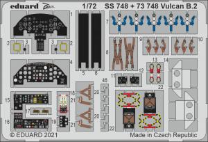 Eduard SS748 Vulcan B.2 AIRFIX 1/72