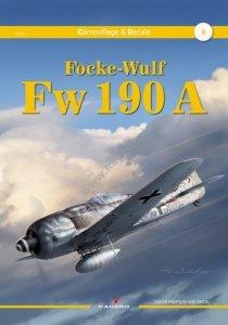 Kagero 55006 Focke-Wulf Fw 190 A EN/PL