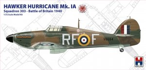 Hobby 2000 72001 Hawker Hurricane Mk. IA Squadron 303 Battle of Britain 1940 (1:72)
