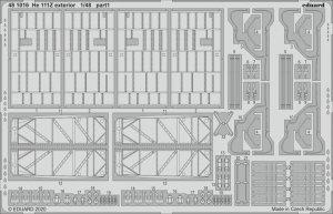 Eduard 481016 He 111Z exterior for ICM 1/48