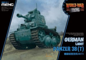 Meng Model WWT-011 World War Toons Panzer 38(t)