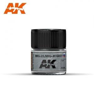 AK Interactive RC336 MIG-25/MIG-31 GREY 10ML