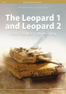Kagero 45001 The Leopard 1 And Leopard 2 From Cold War To Modern Day EN/PL