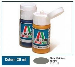 Italeri 4679 FLAT STEEL 20ml