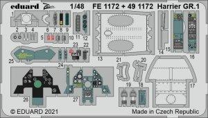 Eduard FE1172 Harrier GR.1 KINETIC 1/48