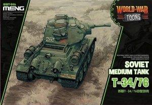 Meng Model WWT-006 World War Toons T-34/76 Soviet Medium Tank