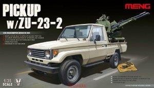 Meng Model VS-004 Pickup w/ZU-23-2 1/35