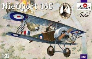A-Model 03201 French fighter Nieuport 16C (Lt.Albert Ball) 1:32
