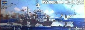 Trumpeter 05768 USS Colorado BB-45 Battleship 1944 1/700