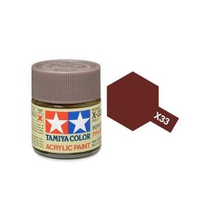 Tamiya 81033 Acryl X-33 Bronze 23ml