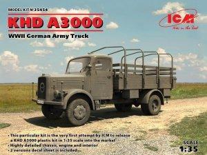 ICM 35454 KHD A3000, WWII German Truck (1:35)