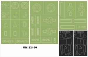 Montex MM32190 A-26 Invader 1/32