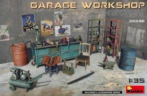 MiniArt 35596 Garage Workshop 1/35