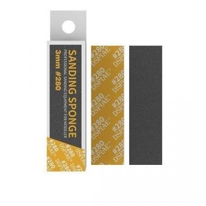 DSPIAE SS3-280 3mm #280 SANDING SPONGE 5 PCS / Gąbka do szlifowania