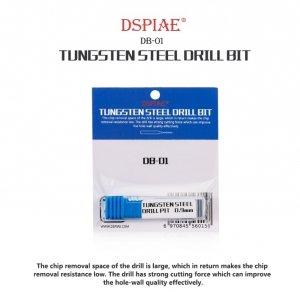 DSPIAE DB-01 1.7mm Tungsten Steel Drill Bit / Wiertło ze stali wolframowej