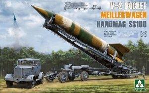 TAKOM 2030 V-2 Rocket Meillerwagen Hanomag SS100 1:35