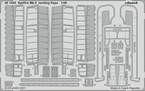 Eduard 481055 Spitfire Mk.II landing flaps EDUARD 1/48