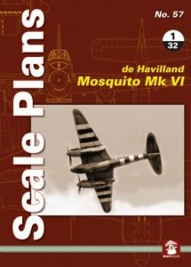Stratus 58143 Scale Plans No. 57: De Havilland Mosquito Mk VI 1/32