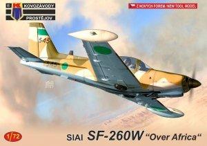 "Kovozavody Prostejov KPM0210 SIAI SF-260W ""Over Africa"" 1/72"