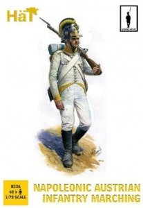 Hat 8326 Napoleonic Austrians Marching 1/72
