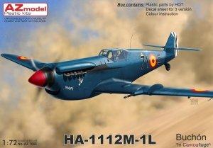 AZ Model AZ7668 HA-1112M-1L Buchon in Camouflage 1/72