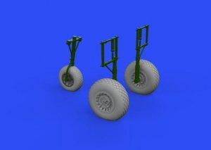 Eduard 632159 A-26 Invader wheels 1/32 HOBBY BOSS