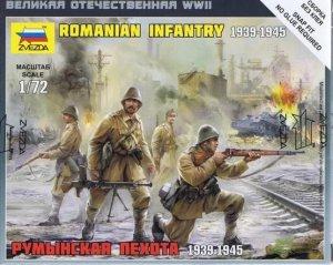 Zvezda 6163 Romanian Infantry 1/72