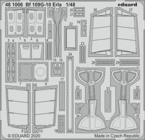 Eduard 481006 Bf 109G-10 Erla for EDUARD 1/48