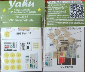 Yahu YML3514 KTO Rosomak late for IBG 1/35