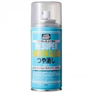 Mr.Hobby B-530 Mr.Super Smooth Clear Flat 170 ml