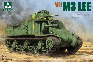 Takom 2089 US Medium Tank M3 Lee (Mid) 1/35