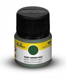 Heller 9102 102 Army Green - Matt 12ml