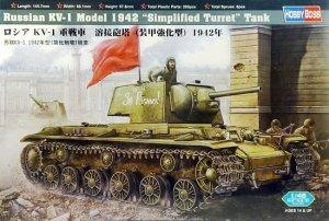 Hobby Boss 84812 Russian KV-1 Model 1942 (1:48)