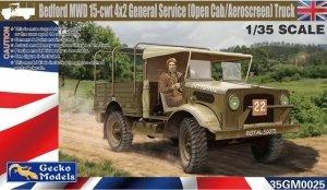 Gecko Models 35GM0025 Bedford MWD 15-cwt 4x2 General Service 1/35