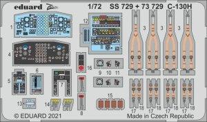 Eduard 73729 C-130H interior for Zvezda 1/72