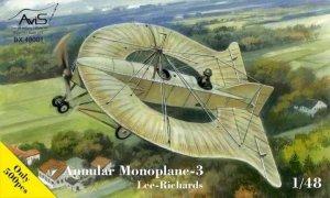 Avis 48001 Lee-Richards Annular Monoplane-3 1/48