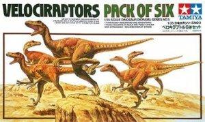 Tamiya 60105 Velociraptors Diorama Set - Pack of Six