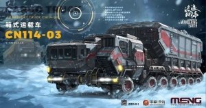 Meng Model MMS-001 The Wandering Earth UEG Cargo Truck 1/100