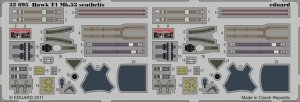 Eduard 32695 Hawk T1 Mk.53 seatbelts REVELL 1/32