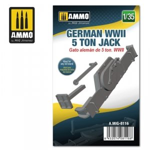 Ammo of Mig 8116 German WWII 5 ton Jack 1/35
