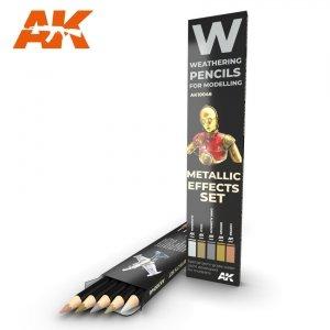 AK Interactive AK 10046 METALLICS: EFFECT SET