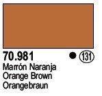 Vallejo 70981 Orange Brown (131)