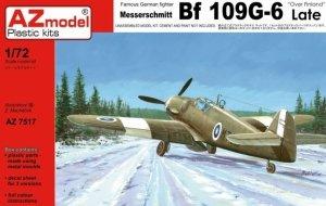 AZmodel AZ7517 Messerschmitt Bf 109G-6 Late Over Finland 1/72