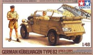 Tamiya 32503 Kuebelwagen Type 82 (Africa) (1:48)